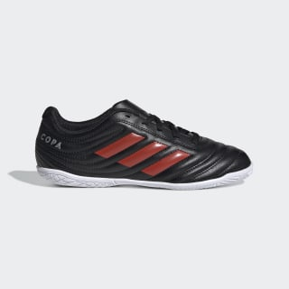 Chuteira Copa 19.4 Futsal Core Black / Hi-Res Red / Silver Metallic F35452