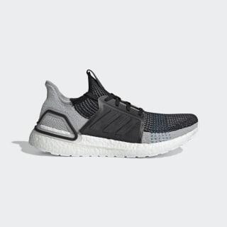 Ultraboost 19 Shoes Core Black / Grey Six / Shock Cyan F35242