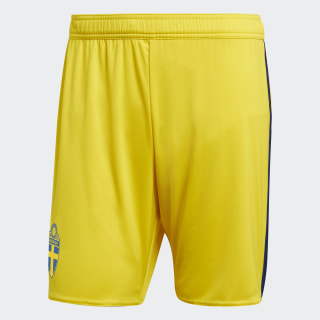 Sweden Away Shorts Yellow / Mystery Ink BR3837