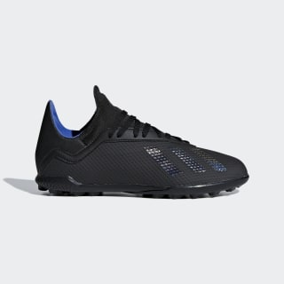 Scarpe da calcio X Tango 18.3 Turf Core Black / Core Black / Bold Blue G26985