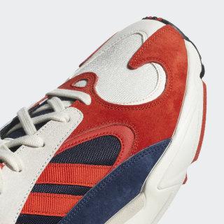 2018 Neu Herren Schuhe Adidas Yung 1 rotweiß B37615 Sneaker