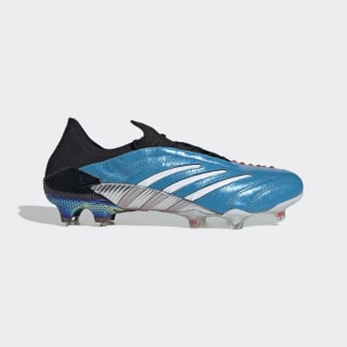 Predator Archive Firm Ground Rugbyschoenen Core Black / Cloud White / Red EH2562