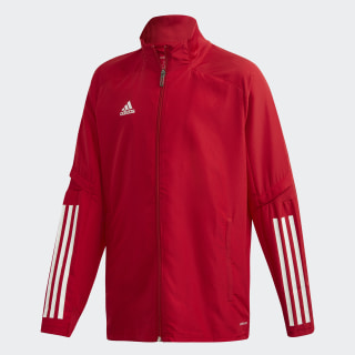 Парадная куртка Condivo 20 Team Power Red / White ED9240