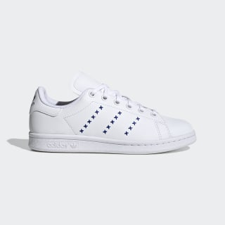 Stan Smith sko Cloud White / Cloud White / Team Royal Blue EG6496