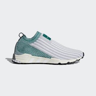 EQT Support SK Primeknit Shoes Grey Two / Ftwr White / Sub Green AQ1032