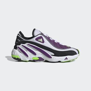 FYW 98 Schuh Cloud White / Glory Purple / Solar Green EG5196