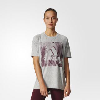Camiseta Sport ID Holgada MEDIUM GREY HEATHER S97189