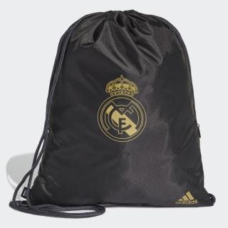 Bolsa Deportiva Real Madrid Black / Dark Football Gold DY7714