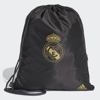 Real Madrid Gym Bag Black / Dark Football Gold DY7714