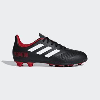 Zapatos de Fútbol Predator 18.4 Múltiples Terrenos CORE BLACK/FTWR WHITE/RED DB2323