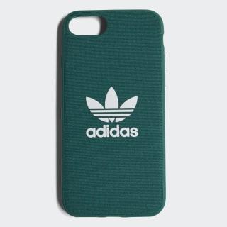 Coque emboîtable Adicolor iPhone 8 Collegiate Green / White CJ6174