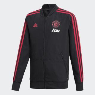 Chamarra de Presentación Manchester United BLACK/BLAZE RED/CORE PINK CW7631