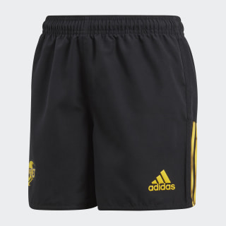 Hurricanes Home Supporters Shorts Black / Bold Gold BP9739
