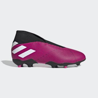Bota de fútbol Nemeziz 19.3 césped natural seco Shock Pink / Cloud White / Core Black EF8848