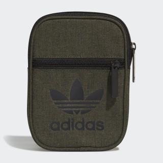 Trefoil Casual Festival Bag Green / Black DW5198