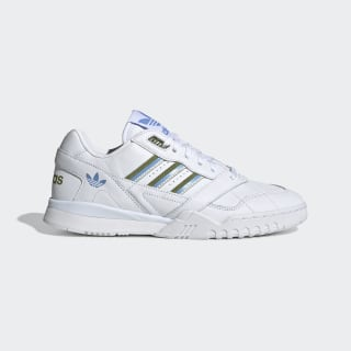 A.R. Trainer Shoes Cloud White / Tech Olive / Real Blue EE5409