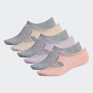 Chaussettes ultra-basses Trefoil (6 paires) Multicolor CK6753