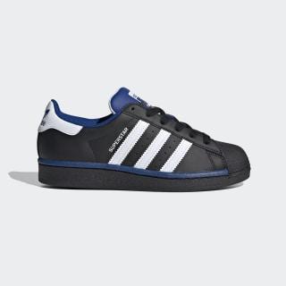 Sapatos Superstar Core Black / Cloud White / Collegiate Royal FV3665