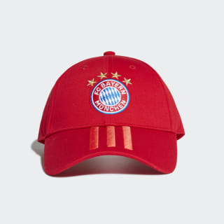 FC Bayern 3-Stripes Cap Fcb True Red / Red / White DY7677