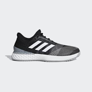 Adizero Ubersonic 3.0 Clay Shoes Core Black / Ftwr White / Light Granite CG6369