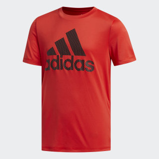 ADIDAS POLY TEE Active Red CL4475