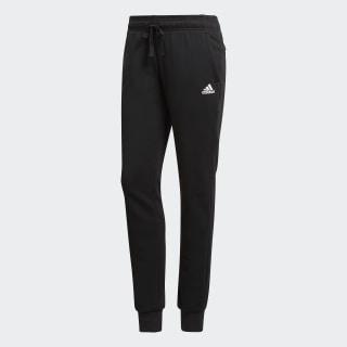 Pants Essentials Logo Cuffed Black / White S97159