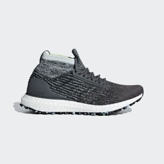 Ultraboost All Terrain Shoes Grey / Carbon / Blue Tint F36129