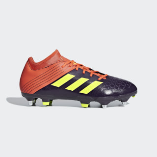 Zapatos de Rugby Malice Elite Terreno Suave Orange /  Hi-Res Yellow  /  True Orange BB7958