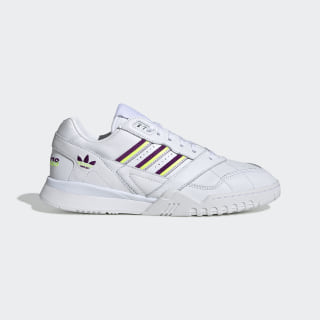 A.R. Trainer Shoes Cloud White / Glory Purple / Solar Yellow EG6714