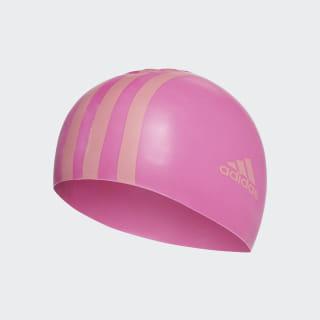 silicone swim cap junior Shock Pink / Chalk Pink CV7669