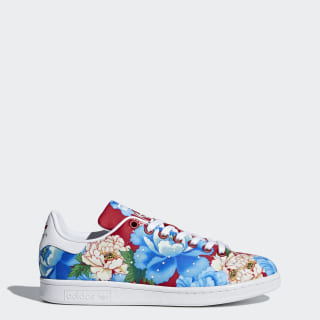 Tenis Stan Smith Estampado Floral Mujer POWER RED/POWER RED/FTWR WHITE BB5158