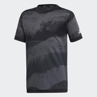 Polera YB TR KN TEE black / grey six DV1400