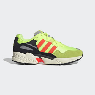 Кроссовки Yung-96 Hi-Res Yellow / Solar Red / Off White EE7246