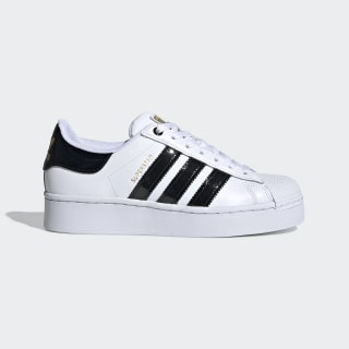 Superstar Bold Women's Shoes Cloud White / Core Black / Gold Metallic FV3336