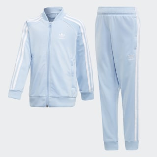 SST Track Suit Clear Sky / White DV2856