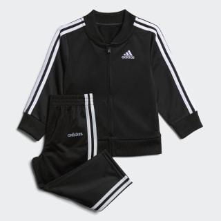 Tricot Jacket and Joggers Set Black CM6646