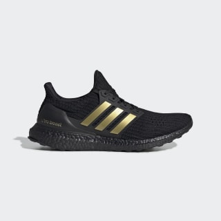 Ultraboost DNA Shoes Core Black / Gold Metallic / Core Black FU7437