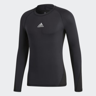 Alphaskin Sport Long-Sleeve Top Black CW9486