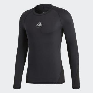 Лонгслив Alphaskin Sport black CW9486
