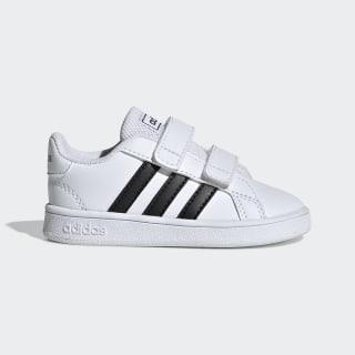 Grand Court Shoes Cloud White / Core Black / Cloud White EF0118