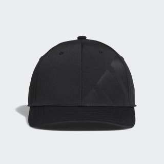 A-Stretch Bold Stripe Cap Black CY7504