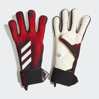 Predator 20 Competition Goalkeeper Gloves Black / Active Red FH7297