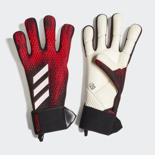 Вратарские перчатки Predator 20 Competition Black / Active Red FH7297