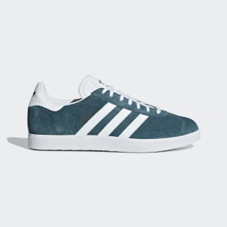 Gazelle Shoes Petrol Night / Ftwr White / Ftwr White B41654