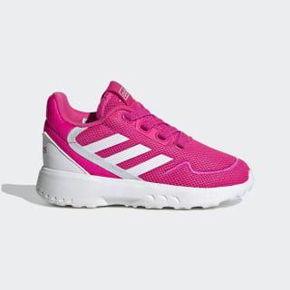 Zapatilla Nebzed Shock Pink / Cloud White / Sky Tint EG3933