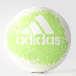 X Glider 2 Soccer Ball White / Solar Green / Black BQ8757