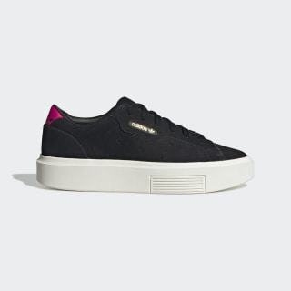 adidas Sleek Super Shoes Core Black / Off White / Real Magenta EF8854