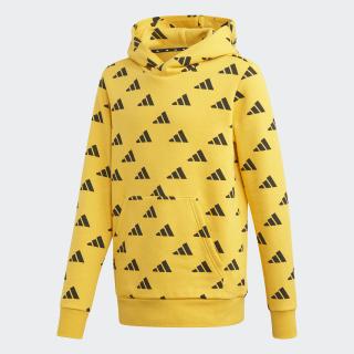 Sweat-shirt à capuche ID Active Gold / Black ED6403