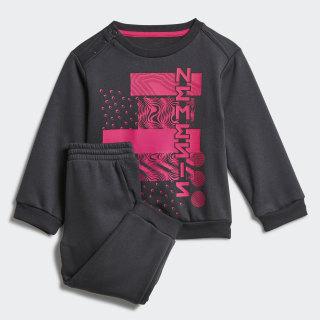 Комплект: джемпер и брюки Mini Me Nemeziz carbon / shock pink ED1160