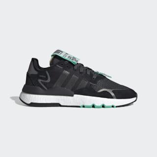 Nite Jogger Shoes Core Black / Cloud White / Hi-Res Green EG2203